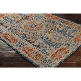 Hand-Woven Telril Polyester Rug (2' x 3')
