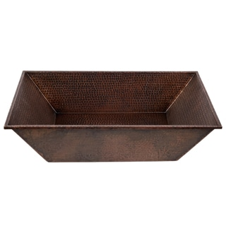 "Link to Handmade 20"" Vessel Hammered Copper Sink (Mexico) Similar Items in Sinks"