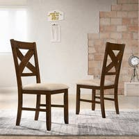 Karven Solid Wood Dining Chairs (Set of 2)