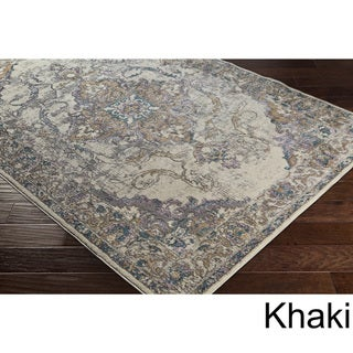 Machine Woven Dedessi Polyester Rug (2' x 3')