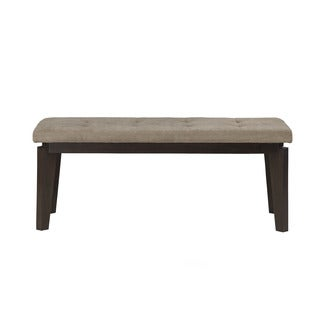 Alpine Uptown Brown Acacia Dining Bench