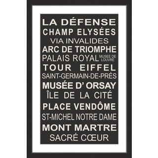 Marmont Hill - 'LA Defense' Framed Painting Print