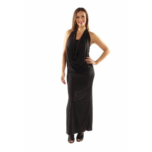 873d86f452b4 Shop 24/7 Comfort Apparel Daring and Dazzling Maxi Dress - Free ...