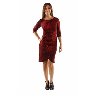24/7 Comfort Apparel Center of Attention Dress