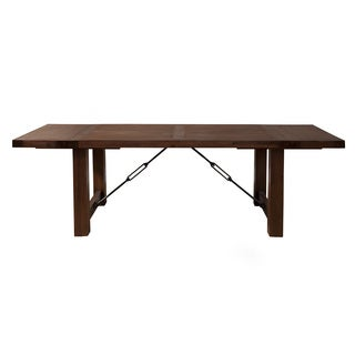 Alpine Pierre Cappuccino Acacia Dining Table