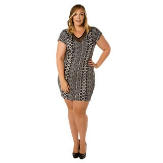 Sealed with a Kiss Women's Plus Size Poppy Dress
