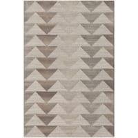 Hand-Tufted Evae Wool Area Rug - 8' x 10'