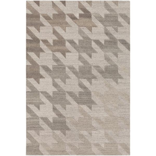 Hand-Tufted Angselle Wool Area Rug - 8' x 10'