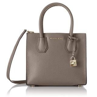 Michael Kors Mercer Medium Cinder Messenger Crossbody Handbag