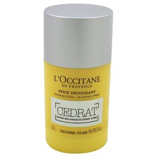 L'Occitane Men's 2.6-ounce Cedrat Stick Deodorant|https://ak1.ostkcdn.com/images/products/14388642/P20960102.jpg?impolicy=medium