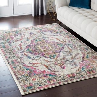 Machine Woven Dedessi Polyester Rug (6'7 x 9'6)