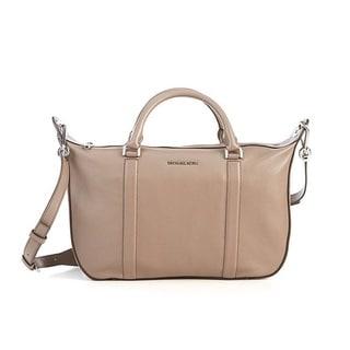 Michael Kors Raven Large Oyster Satchel Handbag
