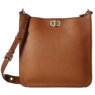 Michael Kors Sullivan Large Luggage Brown Messenger Crossbody Handbag