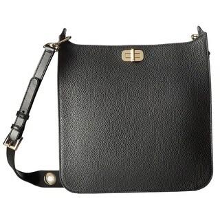 Michael Kors Sullivan Large Black Messenger Crossbody Handbag
