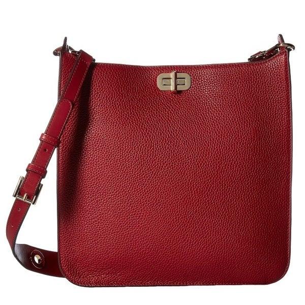acfd775280ddf6 Shop Michael Kors Sullivan Large Cherry Messenger Crossbody Handbag ...