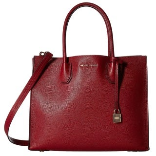 Michael Kors Mercer Large Cherry Convertible Tote Bag