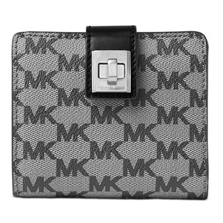 Michael Kors Studio Natalie Medium Black Wallet