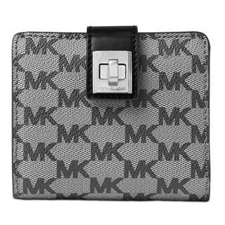 Michael Kors Studio Natalie Medium Black Wallet