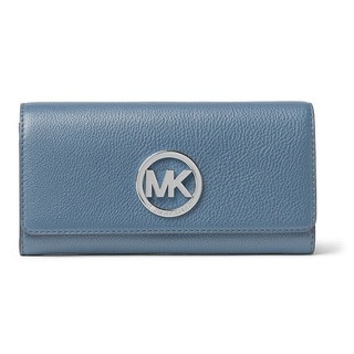 Michael Kors Fulton Denim Carryall Wallet
