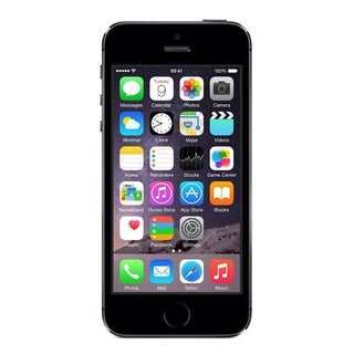 Apple iPhone 5s 16GB Unlocked GSM 4G LTE Dual-Core Phone w/ 8MP Camera - Space Gray (Refurbished)