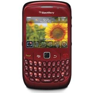 Blackberry Curve 8520 Unlocked GSM Phone - Ruby Red