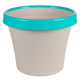 Bloem Terra Taupe and Calypso Two-tone 12-inch Planter