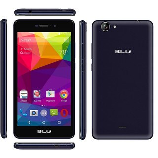 BLU Life XL L050U 8GB Unlocked GSM Octa-Core Android Phone - Black (Certified Refurbished)