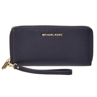 Michael Kors Bedford Admiral Blue Travel Continental Wallet