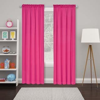 Pink Curtains Amp Drapes For Less Overstock Com