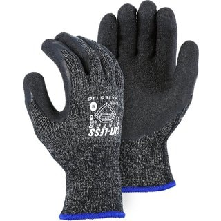 Majestic 34-1570 Dyneema Shell Winter Latex Palm Lined Medium Protective Gloves (1 Pair)