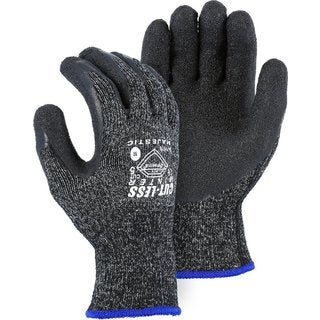 Majestc Dyneema Winter Lined Black/Grey Latex Palm Large Gloves