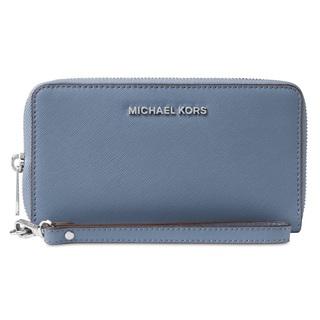 Michael Kors Jet Set Travel Large Flat Denim Multi Phone Case