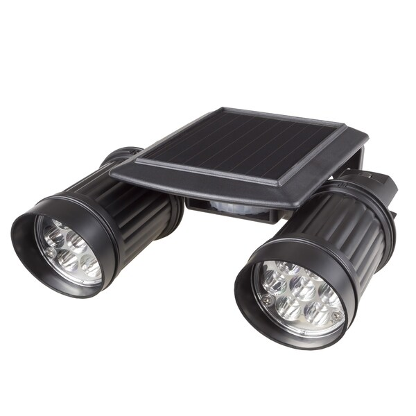 Solar Motion Led Light Outdoor Illumination Bright Dual Spotlights By Stalwart