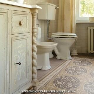 SomerTile 7.875x7.875-inch Piccola Loire Porcelain Floor and Wall Tile (25 tiles/11.46 sqft.)