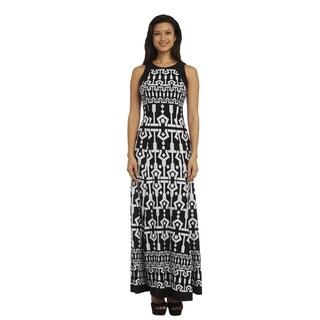 R&M Richards Print Maxi Dress