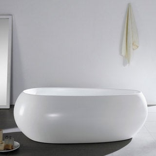 71 Inch Castile Freestanding Bathtub