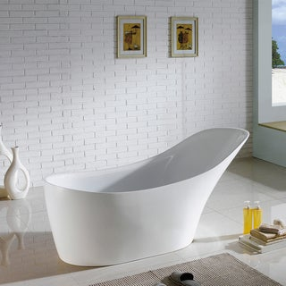 67 Inch Delray Freestanding Bathtub