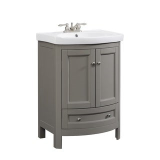 Bellina Grey 24-inch Single Bathroom Vanity Set