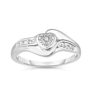 Link to Noray Designs 14k Gold Diamond Accent Heart Ring - White Similar Items in Rings