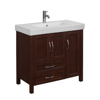 Larissa 36-inch Single Bathroom Vanity Set  by  RunFine Group