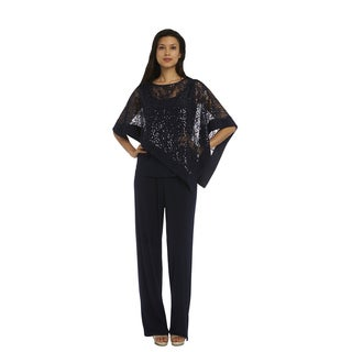 R&M Richards Poncho Pantsuit (Option: 6)|https://ak1.ostkcdn.com/images/products/14389291/P20960767.jpg?_ostk_perf_=percv&impolicy=medium