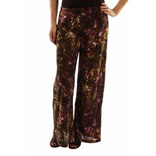 24/7 Comfort Apparel Elegance Without Effort Wide Leg Pants
