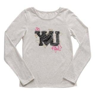 French Toast Girl's 'Be-YOU-tiful' Long Sleeve Graphic T-shirt