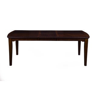 Alpine Palisades Merlot Veneer Wood Dining Table