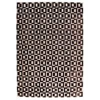 M.A.Trading Hand Woven Yonkers Grey - 2' x 3'