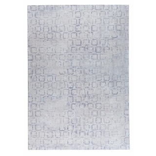 M.A.Trading Hand Woven Tampa Soft Grey (2'x3')