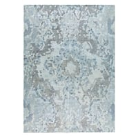 M.A.Trading Hand Woven Omaha Grey/Blue (2'x3')