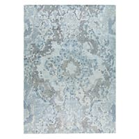 M.A.Trading Hand Woven Omaha Grey/Blue - 2' x 3'