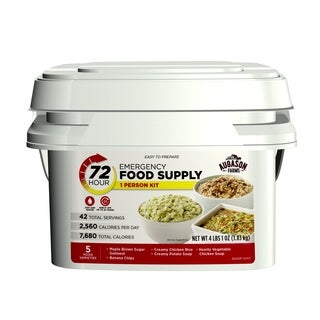 Augason Farms 72-hour 1-person Emergency Food Supply Kit