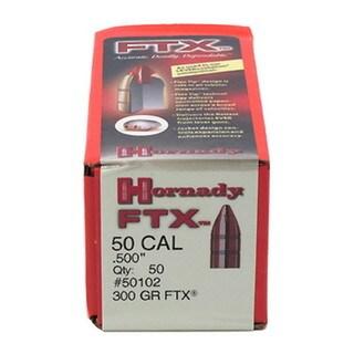 Hornady 50 Caliber .500 300 GR FTX (Per 50)
